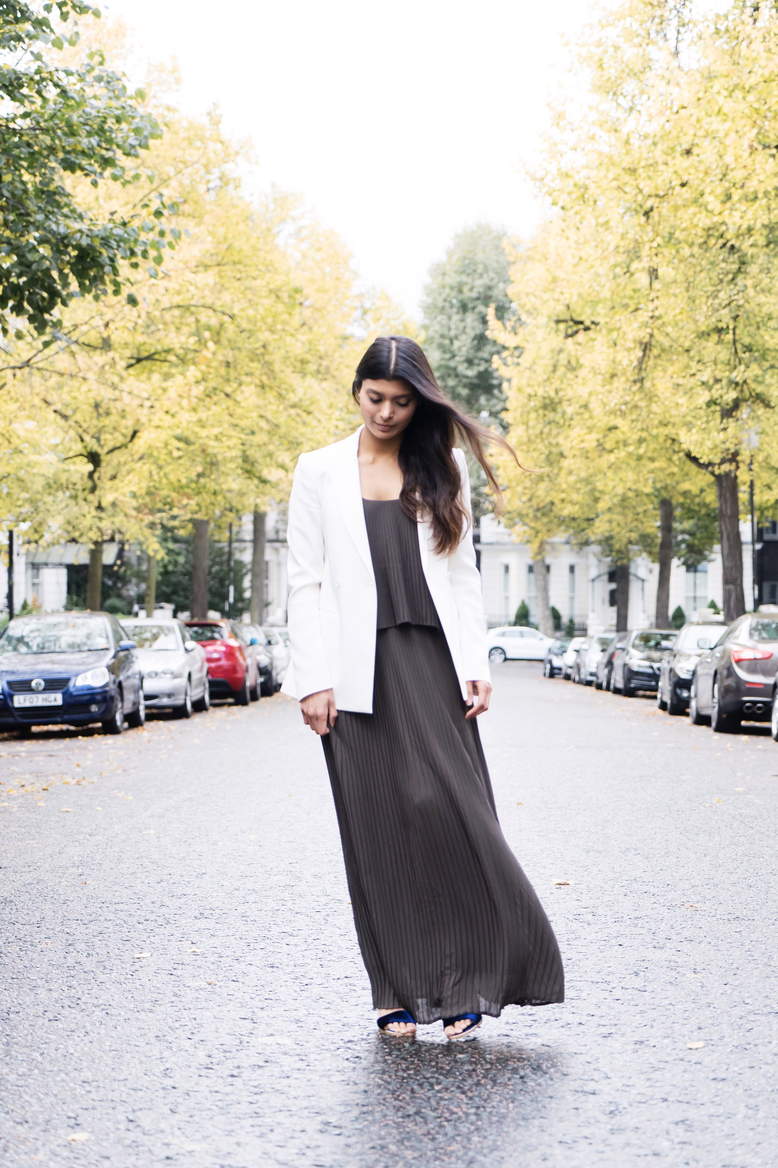 Maxi dress And Blazer