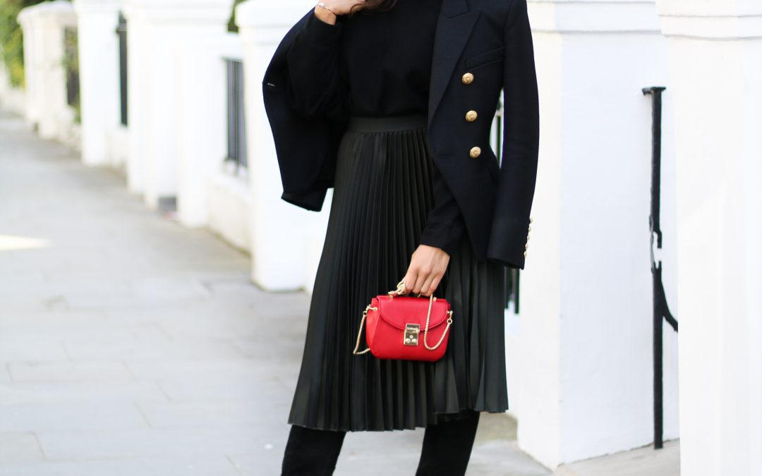 The Pleated Skirt Obsession