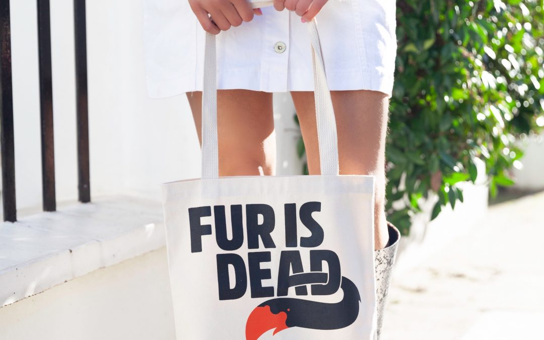 The anti fur campaign : PETA