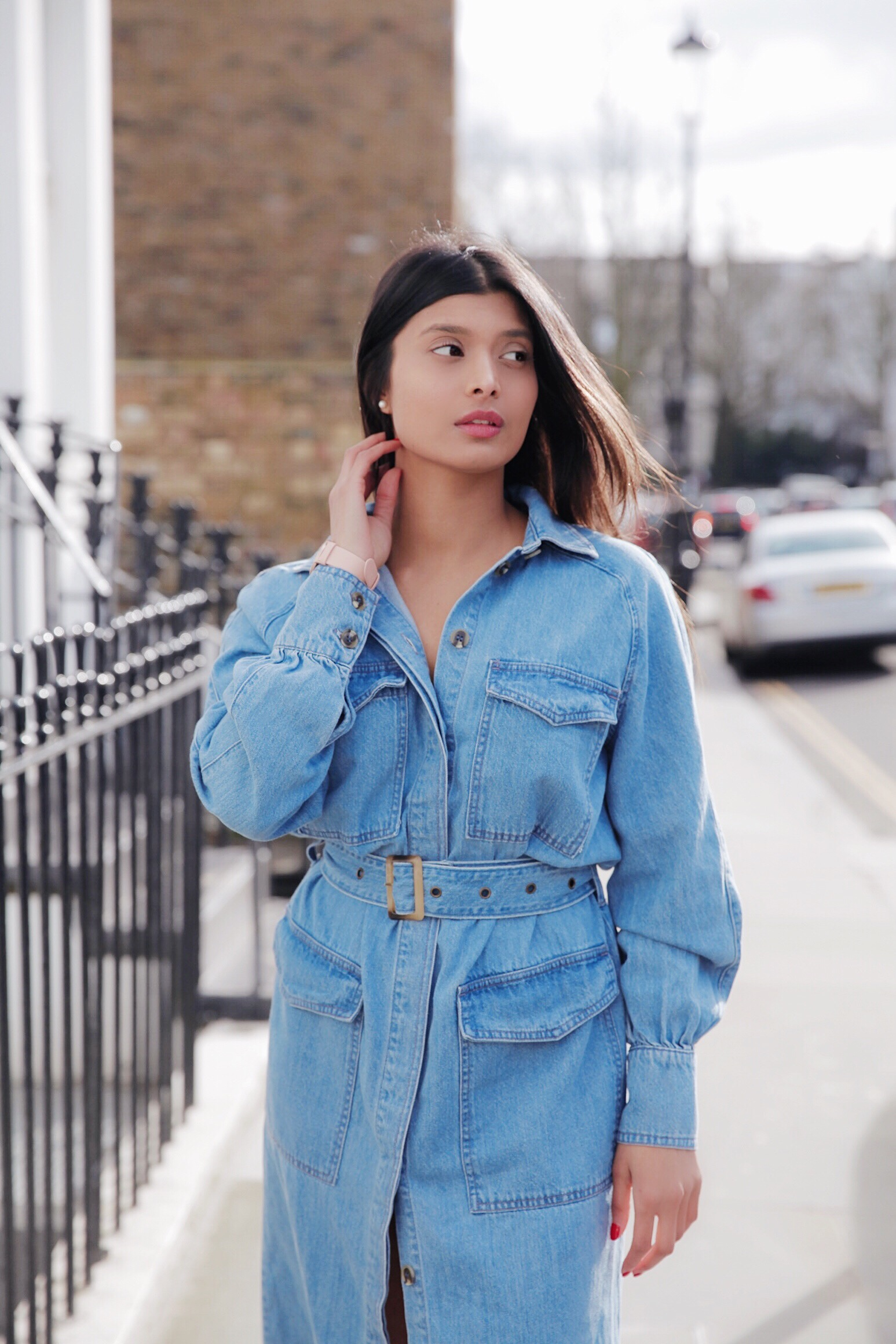 Why a Denim Dress is timeless